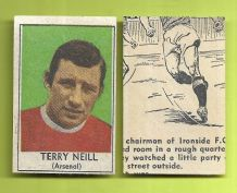 Arsenal Terry Neill Northern Ireland 1969